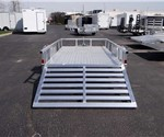 6' x 12' All Aluminum Open Utility Trailer