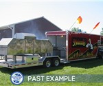 38' Custom BBQ Trailer for Nelson's BBQ - Past Example