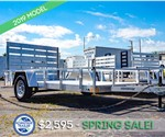 Stealth Phantom Aluminum 6'x12' Open Utility Trailer