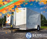 MTI 7'x12' Enclosed Cargo Trailer - Fall Sale!