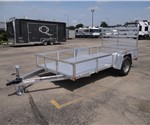 6' x 12' All Aluminum Open Utility Trailer by ATC – Aluminum Trailer Company