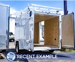 Stealth Titan 6'x10' Enclosed Cargo Trailer - Painter's Trailer