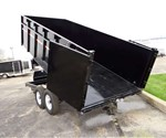 7' x 16' Low Profile Dump Trailer