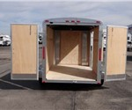 6' x 12' Cargo Trailer with Rear Swing Doors