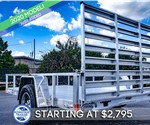 Formula Ghost 6.5'x10' All-Aluminum Open Utility Trailer