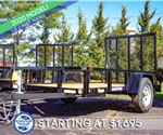 Sure-Trac 5'x10' Tube Top Utility Trailer