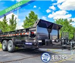 7'x14' Sure-Trac Heavy-Duty Dump Trailer