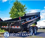 Sure-Trac 7'x14' Heavy Duty Low Profile Dump Trailer - Recent Example