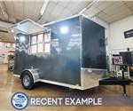 7'x12' Discovery Concession Trailer - Recent Example