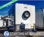 ATC 7'x12' Fiber Splicing Trailer with 5.5k Generator