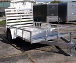 Open Aluminum 6' x 10' Utility Trailer by ATC