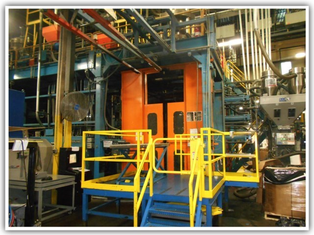 Auction of Complete Accumulator Head Blow Molding Facility, REGISTER NOW!