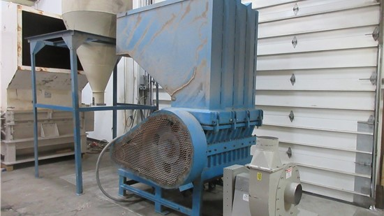 """Used 24"""" x 42"""" Rapid 2442H, 100 HP, 10 HP Blower and Cyclone"""