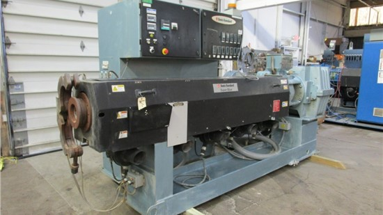 "6"" Davis Standard Extruder, Model 60IN60TPIH, Water Cooled, 30:1, 500 HP AC Motor"