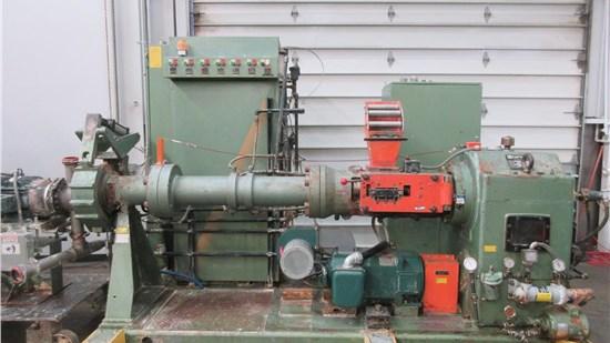 "4.5"" NFM Rubber Extruder, Jahnel 120, 18:1 L/D, 150 Hp"