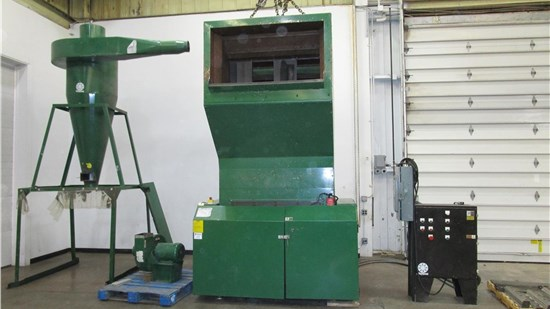 "Used 22.8"" x 48"" Rapid 500 Series Granulator Model 500-120, 100Hp, NEW IN 2008"