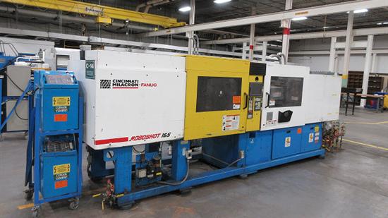 165 Ton Cincinnati Milacron Roboshot Injection Molding Machine, Model Robo 1651-114G, 4 Oz, New 1999