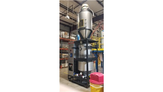 Used Maguire Dryer, Model VBD-1000, New In 2012