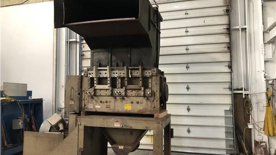 "Used 20"" x 50"" Cumberland Granulator Model 50B Granulator, 200 HP"
