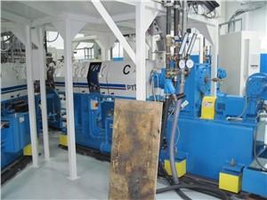 "2.5"" PTI Extruder, 40:1 L/D, 50 HP AC Motor, 53"" Centerline"