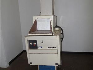 used top fed granulator_beside the press (1).JPG