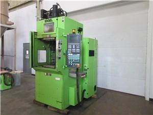 engle vertical rubber inj press