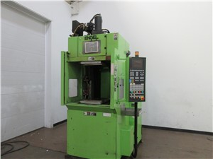 80 Ton Engel Vertical Rubber Injection Molding Machine, Model Elast280/90VTL,2006