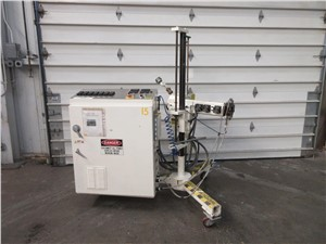 "used 3/4"" air cooled extruder"