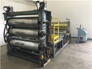 "65"" Wide Crown Three Roll Vertical Sheet Stack"
