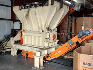 "33"" x 49"" Previero PR 812 Single Shaft Shredder, 126 KW(169 HP)"