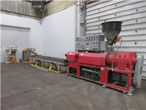 sterling strand pelletizing line used