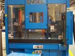 90 Ton Engel Vertical Tiebarless Injection Molding Machine, Model IN500V/90, 8.2 Oz, New In 2009