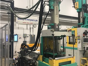 66 Ton Arburg All-Rounder Injection Molding Machine, Model 320C 600-250U, 4.56 Oz, New In 2001