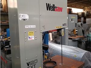 Wellsaw Model V-20 EXT Vertical Bandsaw