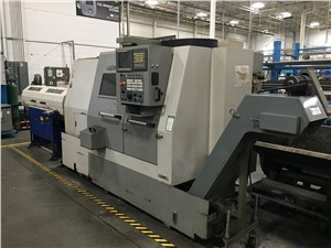 Leadwell CNC Lathe, Model T-8, 2-Axis Slant Bed, New In 2008