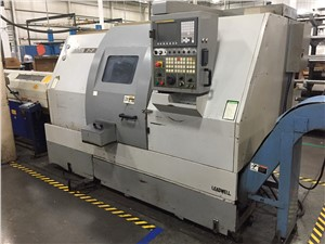 Leadwell CNC Lathe, Model T-7, 2-Axis Slant Bed, New In 2006