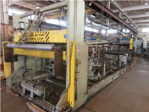 "78"" Wide PTI Sheet Line, With 6"", 36:1 L/D Extruder, 2003"