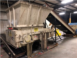 52 Vecoplan Shredder Model RG52 SPK, 100 HP, New In 2005