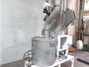 Gala Underwater Water/Pellet Drying System, 2008-BF Spin Dryer, TWS80.