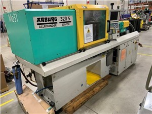 55 Ton Arburg  Injection Molding Machine, Model 320S-500-150, 1.99 Oz, Made New In 1999