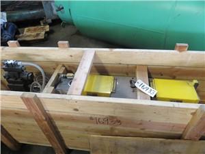 "6"" Xaloy Model EH-60 Hydraulic Slide Plate Screen Changer"