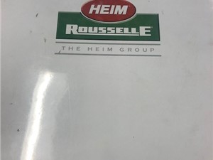 Rousselle Model S2-150 Two Point Straight Side Press