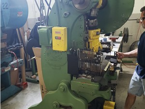 38 Ton Walsh Model 38 Punch Press