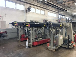Davis Standard Co-Extrusion Line Consisting Of Three Extruders