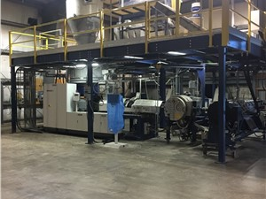 90MM MAS Twin Screw Pelletizing Line, New In 2017