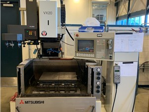 Mitsubishi Sinker EDM Machine, Model VX20, New In 1995