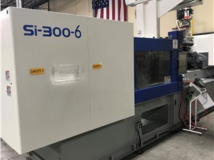 300 Ton Toyo Electric Injection Molding Machine Model SI-300-6, 33.13 Oz, New In 2015