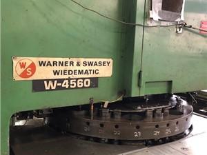 Warner & Swasey Wiedematic Turret Punch, Model W-4560