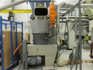 Erema KAG 806 Automatic Edge Trim Recycling System, Manufactured 2007