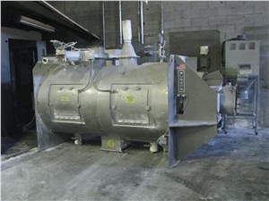 100 CU/FT Munson Cylindrical Plow Blender, Model HD-48-SSJC, 2006 Vintage